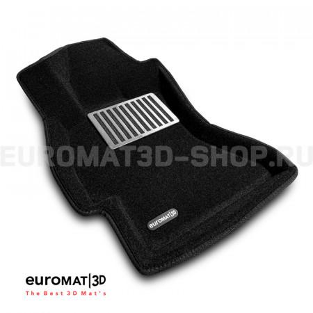 Текстильные 3D коврики Euromat3D Lux в салон для Subaru Forester (2012-2018) № EM3D-004709