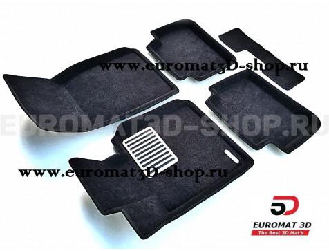 Текстильные 3D коврики Euromat3D Lux в салон для Bmw 2 (F22) (2011-) № EM3D-001213