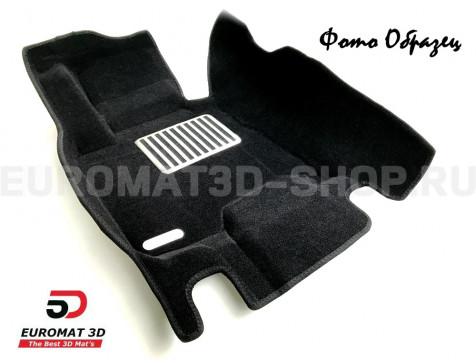 Текстильные 5D коврики с высоким бортом Euromat3D в салон для Bmw X5 (E70) (2008-2014) № EM5D-001212