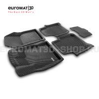 3D коврики Euromat3D EVA в салон для Skoda Kodiaq (2017-) № EM3DEVA-004512